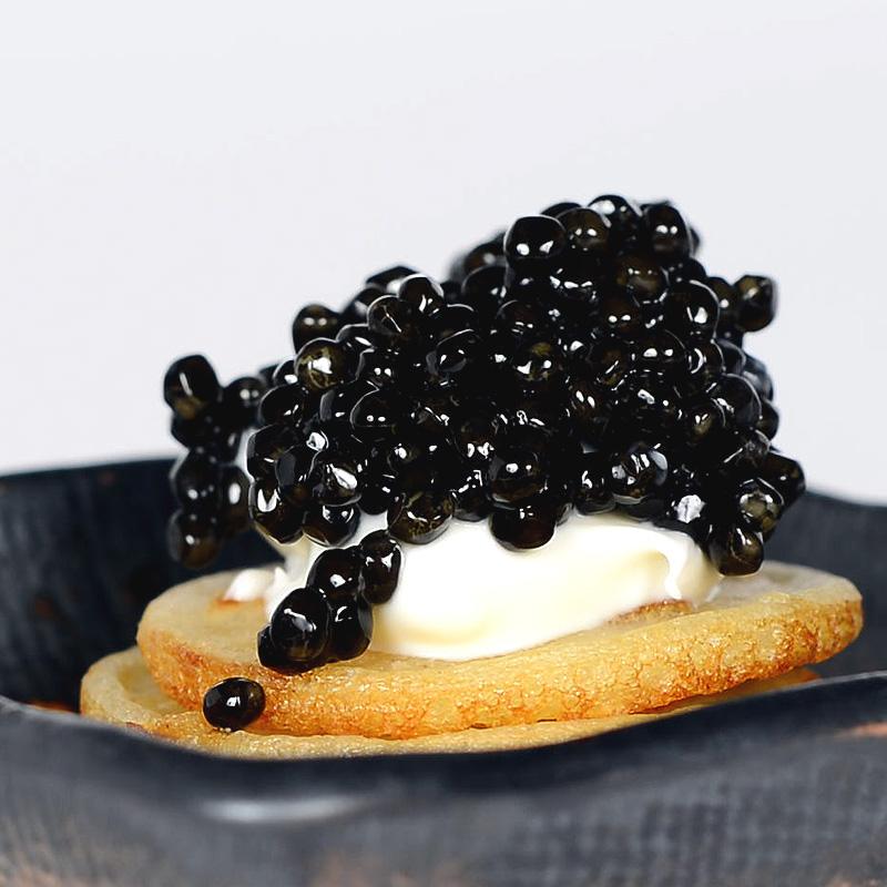 Russian Osetra Karat Caviar – Black